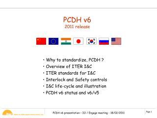 PCDH v6 2011 release