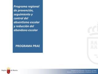 Exposición de motivos Ámbito de aplicación Destinatarios del programa