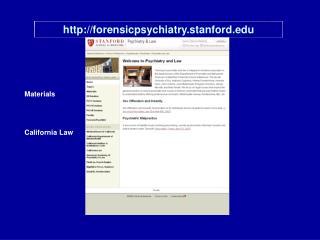forensicpsychiatry.stanford