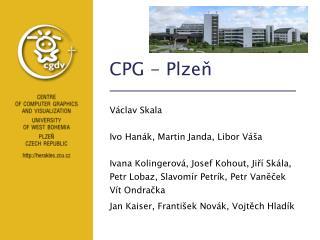 CPG - Plzeň