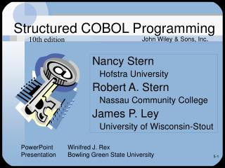 Structured COBOL Programming