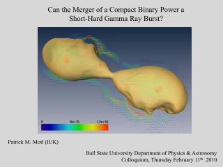 Can the Merger of a Compact Binary Power a Short-Hard Gamma Ray Burst?