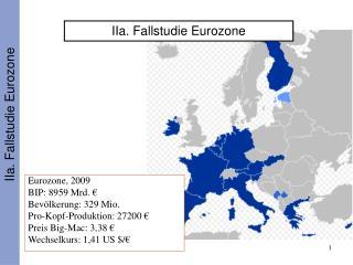IIa. Fallstudie Eurozone