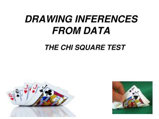 DRAWING INFERENCES FROM DATA