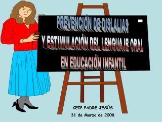 PREVENCI N DE DISLALIAS  Y ESTIMULACI N DEL LENGUAJE ORAL EN EDUCACI N INFANTIL