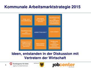 Kommunale Arbeitsmarktstrategie 2015