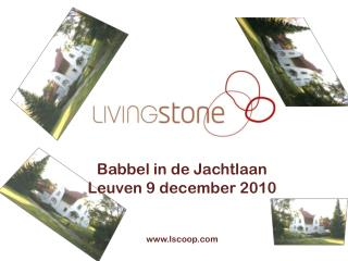 Babbel in de Jachtlaan  Leuven 9 december 2010 lscoop
