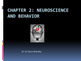 Chapter 2: Neuroscience and Behavior