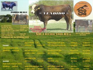 N° REGISTRO---------------M139650 FECHA DE NAC------------- 12/ENE/05