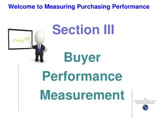 Welcome to Measuring Purchasing Performance
