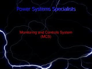 Power Systems Specialists