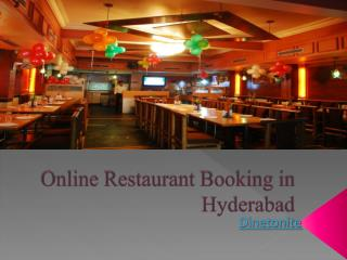 Find the Top Restaurants in Hyderabad, India