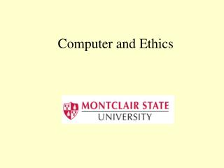 Computer and Ethics