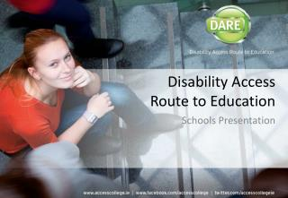 Disability Access  Route to Education