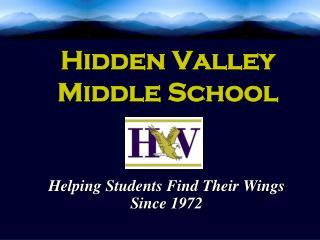 Hidden Valley  Middle School