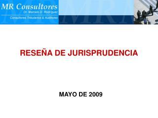 RESEÑA DE JURISPRUDENCIA