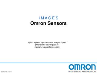I M A G E S Omron Sensors