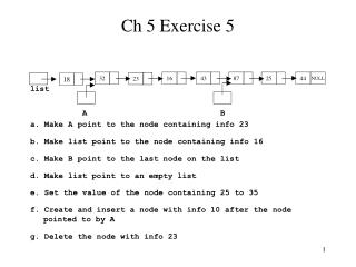Ch 5 Exercise 5