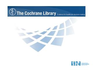 What Is The Cochrane Library?
