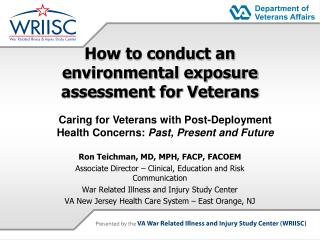 How to conduct an  environmental exposure assessment for Veterans