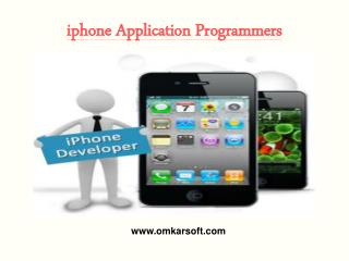 iPhone Application Programmers