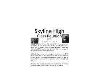 Skyline High