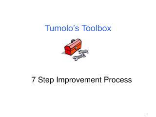 Tumolo's Toolbox