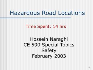 Hazardous Road Locations