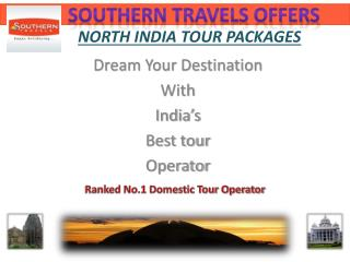 Country's Best North India Tour Operators