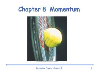 Chapter 8   Momentum