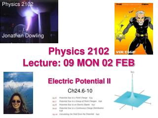 Physics 2102  Lecture: 09 MON 02 FEB