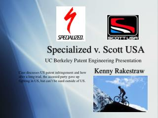 Specialized v. Scott USA