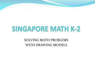 SINGAPORE MATH K-2