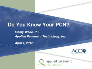 Do You Know Your PCN?