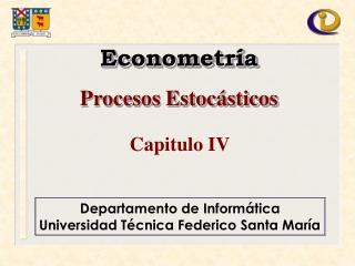 Departamento de Inform tica Universidad T cnica Federico Santa Mar a