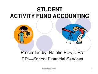 STUDENT  ACTIVITY FUND ACCOUNTING