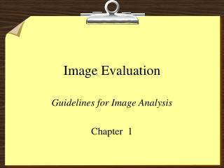Image Evaluation