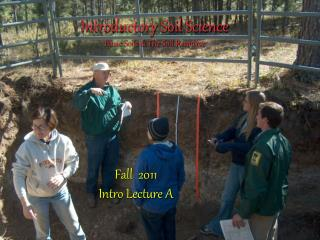 Introductory Soil Science  Basic Soils & The Soil Resource
