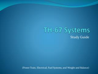 TH-67 Systems