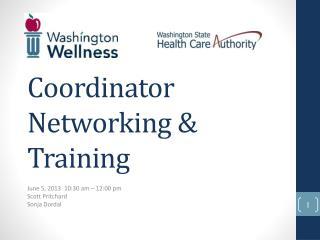 Coordinator Networking & Training