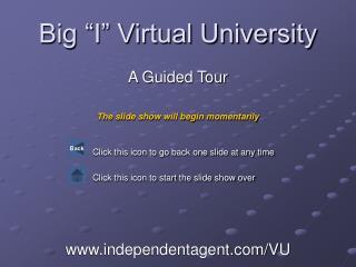 "Big ""I"" Virtual University"