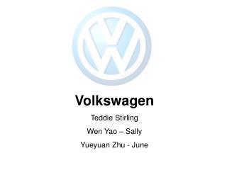 Volkswagen Teddie Stirling Wen Yao – Sally Yueyuan Zhu - June