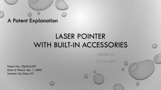 Laser Pointer  with built-in accessories