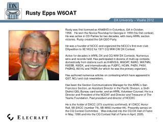 Rusty Epps W6OAT