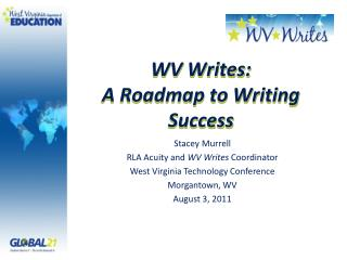 WV Writes: A Roadmap to Writing Success