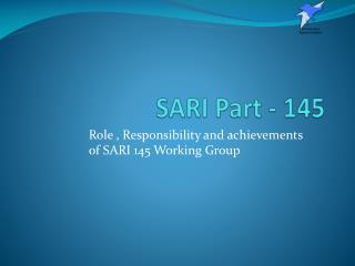 SARI Part - 145
