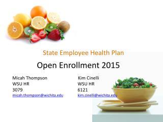 State Employee Health Plan
