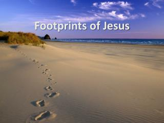 Footprints of Jesus