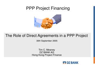 Tim C. Meaney DZ BANK AG Hong Kong Project Finance