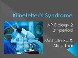 Klinefelter's Syndrome